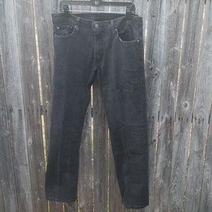 Levi 514 black jeans